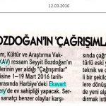 Cumhuriyet - 12.03.2016