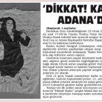 Adana Son Nokta - 22.01.2013